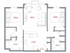 Floor Plan 6 | Tivalli