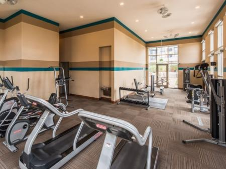 Fitness Center at Vue 21 2