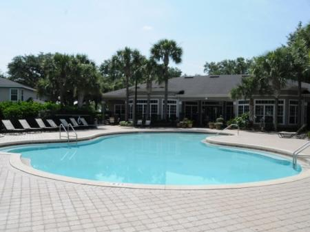 Hawthorne Groves, Orlando Florida, Resort-style pool with basking deck