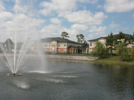 Scenic Fountains in Each Lake