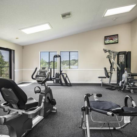 State-of-the-Art Fitness Center | Apartment For Rent Altamonte Springs FL | Lakeshore at Altamonte Springs