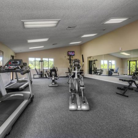 Cutting Edge Fitness Center | Apartment In Altamonte Springs FL | Lakeshore at Altamonte Springs