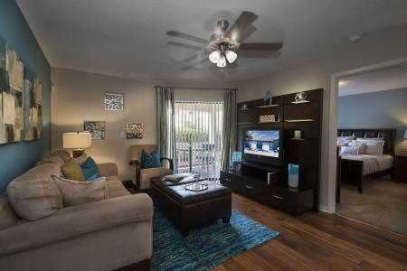Luxurious Living Room | Apartment For Rent Altamonte Springs FL | Lakeshore at Altamonte Springs