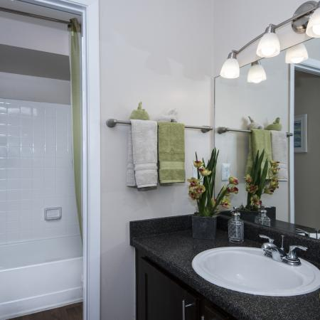 Spacious Master Bathroom | Apartment In Altamonte Springs FL | Lakeshore at Altamonte Springs