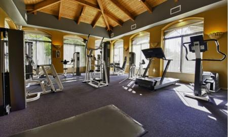 Cutting Edge Fitness Center | Luxury Apartments Tempe AZ | The Palms on Scottsdale