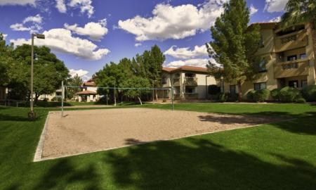 Sand Volleyball Court | One Bedroom Apartments In Tempe | The Palms on Scottsdale