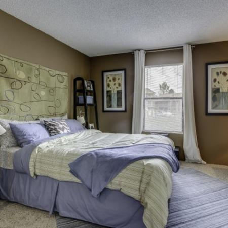 Elegant Master Bedroom | Apartments For Rent In Thornton CO | Skyline