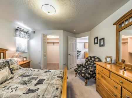 Residents in the Bedroom | Apartments In Boise | River Pointe