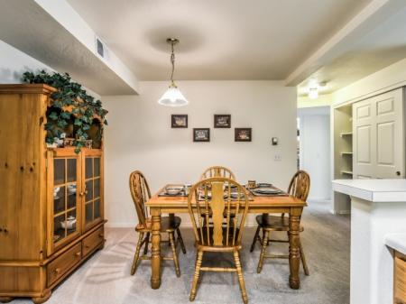 Spacious Dining Room | Apartments Boise | River Pointe