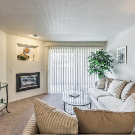 Elegant Living Room | Apartments In Boise | Rosewood Apartments