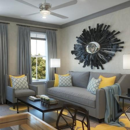 Spacious Living Room | Prospect Apartments | Greystar