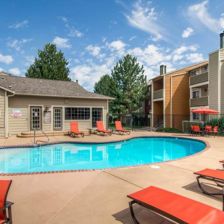 Resort Style Pool | Apartments In Littleton CO | Terra Vista at the Park 1