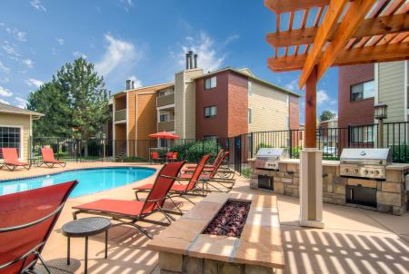 Community BBQ Grills | Apartments In Littleton Colorado | Terra Vista at the Park