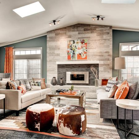 Residents Relaxing in Club Room | Apartments In Littleton Colorado | Terra Vista at the Park