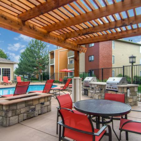 Resident BBQ | Apartments In Littleton CO | Terra Vista at the Park