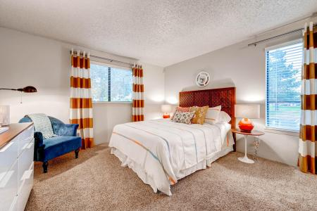 Luxurious Bedroom | Apartments In Littleton CO | Terra Vista at the Park