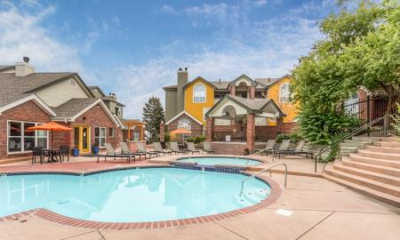 Resort Style Pool | Apartments For Rent In Northglenn Colorado | Keystone Apartments 2