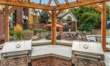 Resident BBQ | Apartments For Rent In Northglenn Colorado | Keystone Apartments