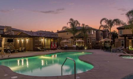 Heated Pool | Apartments For Rent In Santa Clarita Valley | Townhomes at Lost Canyon