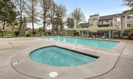 Swimming Pool | Apartments In Lakewood | Citizen and Oake
