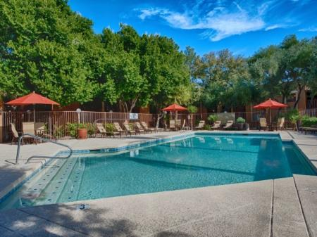 Resort Style Pool | Apartments In Tempe | Flagstone