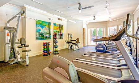 State-of-the-Art Fitness Center | Apartments In Alpharetta GA | The Lakes at Windward
