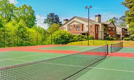 Community Tennis Court | Apartment In Alpharetta GA | The Lakes at Windward