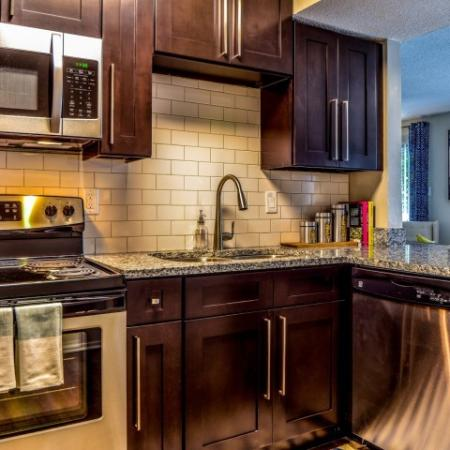 State-of-the-Art Kitchen | Apartments For Rent Alpharetta GA | The Lakes at Windward