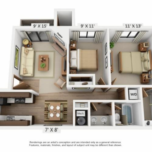 Floor Plan 1 | Santana Ridge