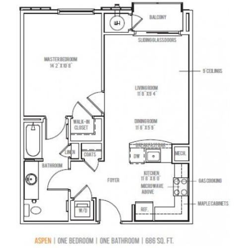 Floor Plan | Lofts at Valley Forge