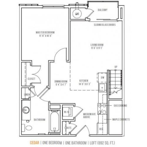 Floor Plan 6 | Lofts at Valley Forge