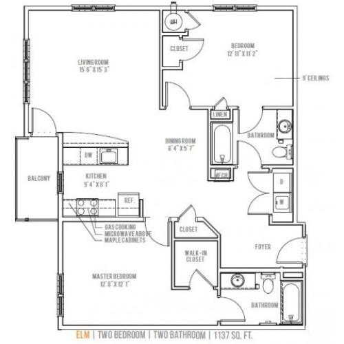 Floor Plan 8 | Lofts at Valley Forge