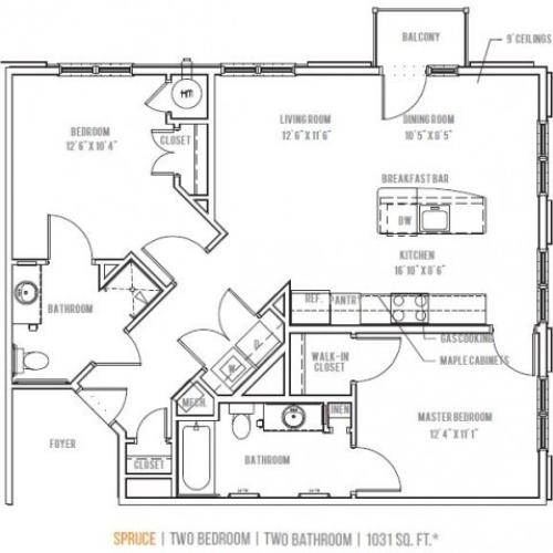 Floor Plan 10 | Lofts at Valley Forge