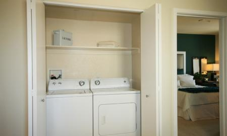In-home Laundry| Luxury Apartments In Pasadena CA | Trio Apartments