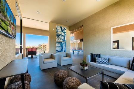 Luxurious Living Room | Chandler Arizona Apartments for Rent | The Cooper 202