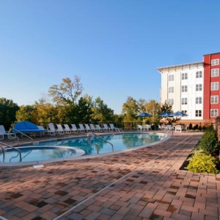 Year Round Swimming Pool | Eagleville Apartments | Lofts at Valley Forge