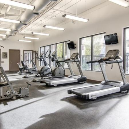 State-of-the-Art Fitness Center | Atlanta Apartments | Pencil Factory Flats