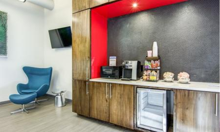 Resident Coffee Bar | Apartments In Atlanta GA | Pencil Factory Flats