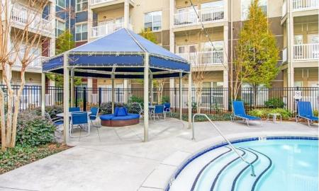 Resort Style Pool | Apartments In Atlanta GA | Pencil Factory Flats