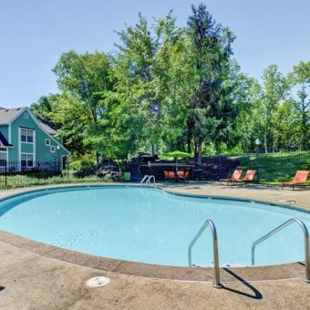 Playing in the Pool | Indianapolis Apartments For Rent | Island Club