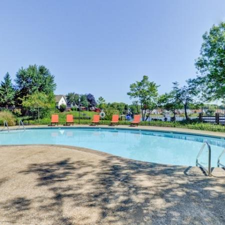 Floating in the Pool | Apartment In Indianapolis Indiana | Island Club