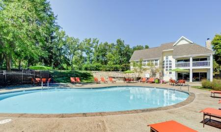 Lounging by the Pool | Apt In Indianapolis | Island Club