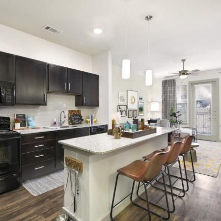State-of-the-Art Kitchen   Apartment Temple TX   Villas on the Hill