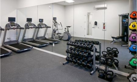 State-of-the-Art Fitness Center | Apartments Beaverton | The Rise Old Town