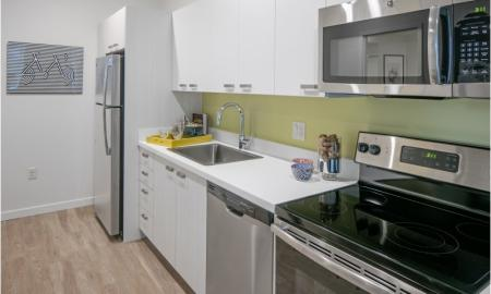 Elegant Kitchen | Beaverton Apartment | The Rise Old Town