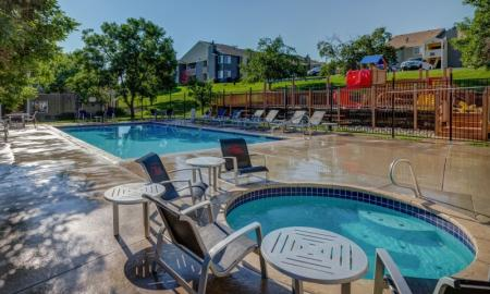 Resort Style Pool | Morrison Apartments | Vista at Trappers Glen
