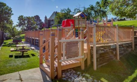 Resident Children's Playground | Morrison Apartments | Vista at Trappers Glen