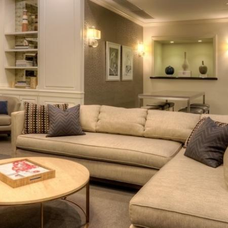 Spacious Community Club House | Chicago Apartments Lincoln Park | The Seneca