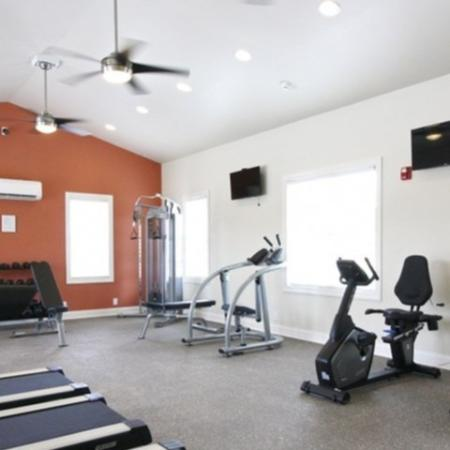 Cutting Edge Fitness Center | White House TN Apartments | The Standard at White House
