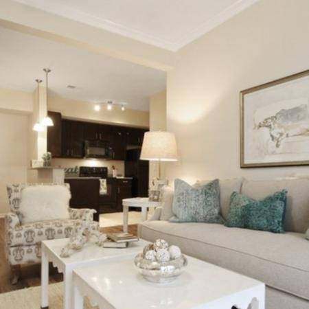 Elegant Living Room | White House Apartments | The Standard at White House
